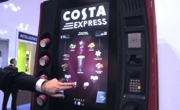 costa express, interface