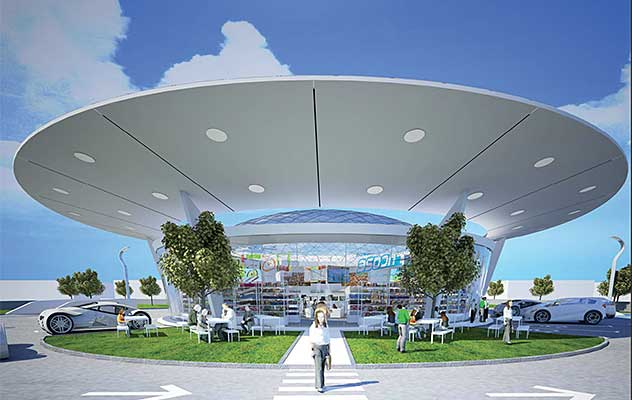gas station of the future